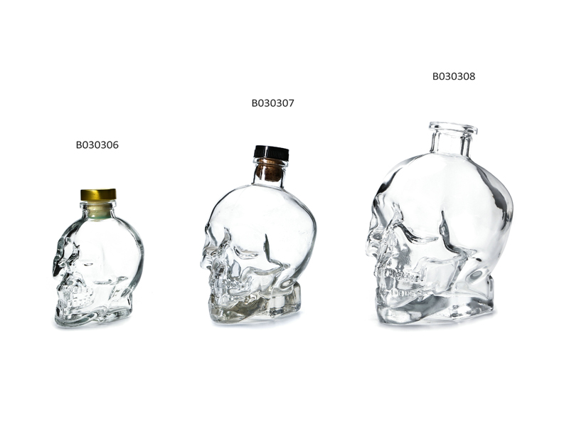 Glass Vodka Bottles 2