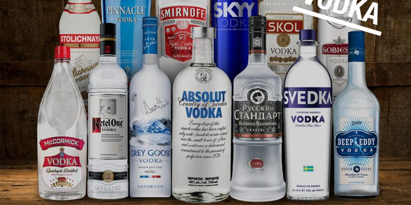10 glass vodka bottles banner image 2