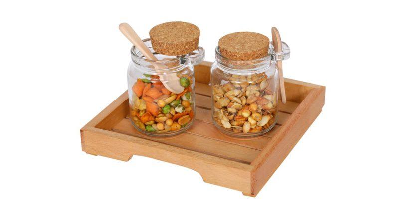 26 glass spice jar Banner image